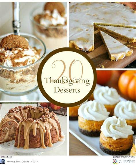 thanksgiving desserts ideas thanksgiving pinterest
