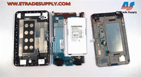 Samsung Tab 2 P1000 galaxy tab p1000 repair tutorial step by step disassembly