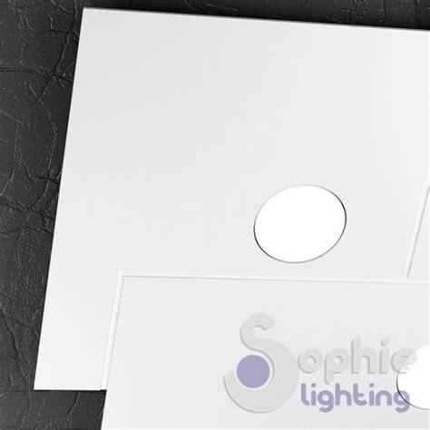 plafoniera soffitto led plafoniera soffitto led design moderno metallo bianco