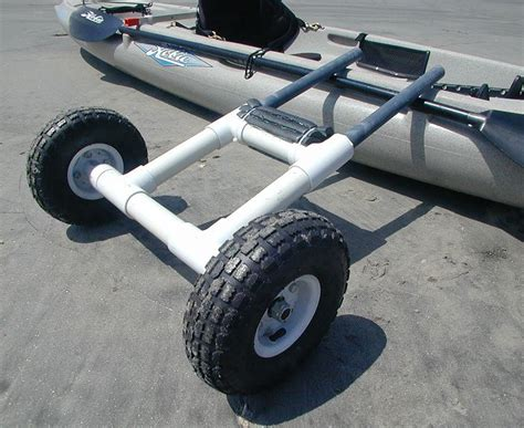 boat plug diy a scupper dolly made from pvc tubing fishing kayaks