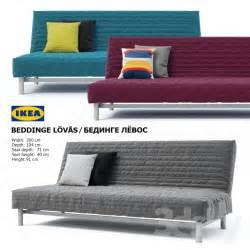 2 5 Seat Sofa 3d Models Sofa Ikea Beddinge Lovas Sofa Bed Bedinge