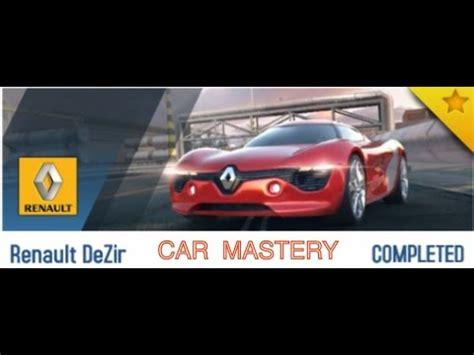 renault dezir asphalt 8 asphalt 8 new car mastery renault dezir completed youtube