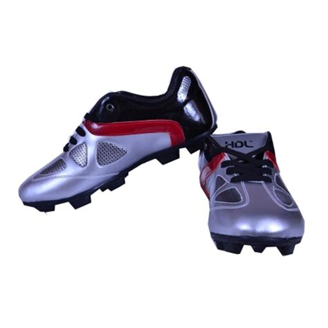 football studs shoes hdl top football stud shoes black and silver buy hdl top