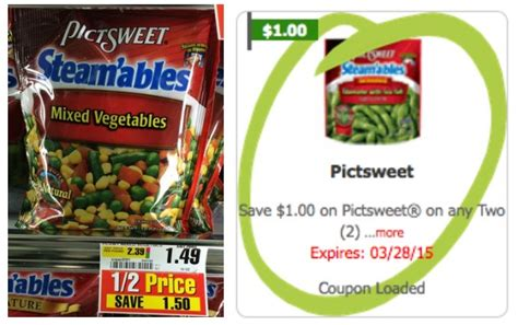 printable frozen vegetable coupons pictsweet vegetables coupon 0 49 at shopriteliving rich