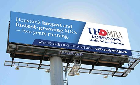 Uhd Mba Ranking by Houston Business School Of Houston Downtown