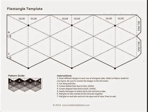printable origami toys flextangles molde pesquisa google moldes pinterest