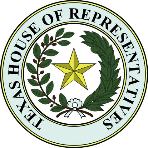 house of representatives seal file seal of texas house of representatives svg