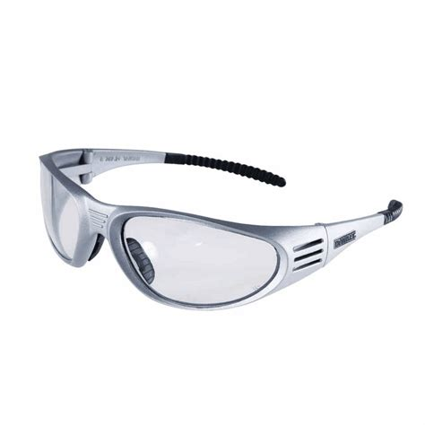 Dewalt Safety Glasses Ventilator Black Dewalt Ventilator Safety Glasses Silver Frame Clear Lens