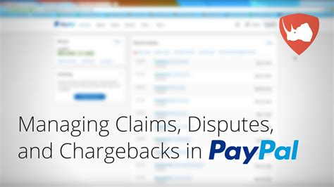 paypal resolution center how to manage disputes claims