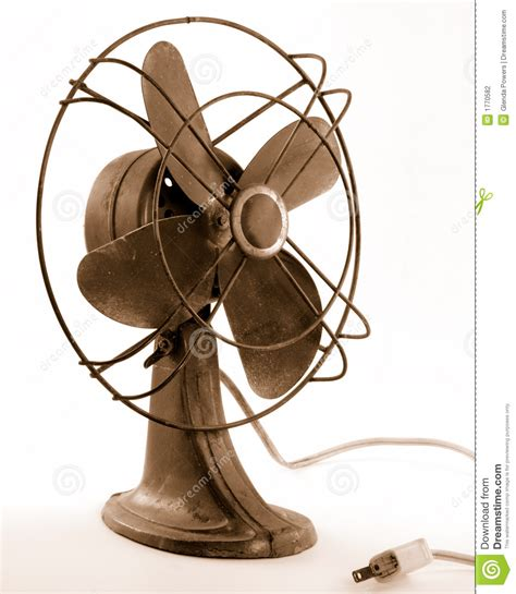 old fashioned electric fan vintage electric fan stock photography image 1770582