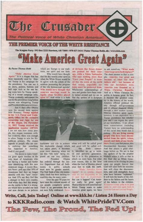Endorsement Letter For Pageant The Ku Klux Klan Officially Endorses Donald For President The Independent