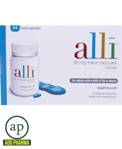 alli slimming capsules 84 tablets addpharma pharmacy