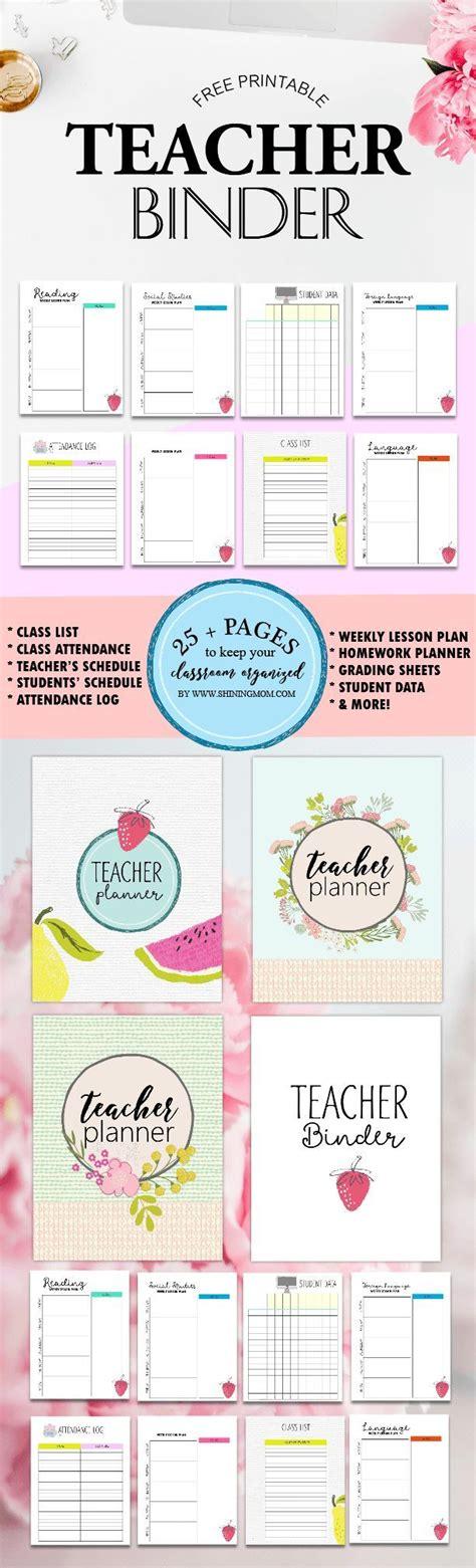 printable lesson plan binder best 25 attendance sheet template ideas on pinterest