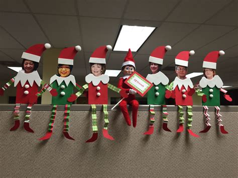 elf on the shelf at the office elf friends christmas