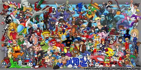 sega video games crossover wallpapers hd desktop