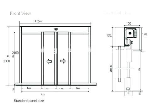 Barn Door Height Floor - standard barn door sizes standard size patio door sliding