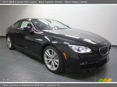 Bmw 640i 2012 by Black Sapphire Metallic 2012 Bmw 6 Series 640i Coupe