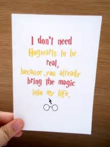 harry potter greeting card magic birthday friendship family