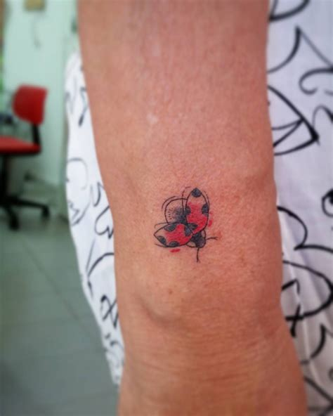 ladybug tattoo meaning watercolor ladybug designs ideas and meaning