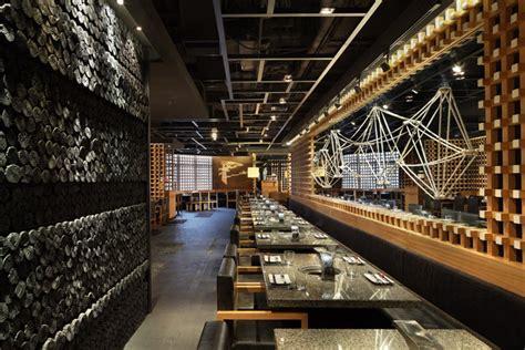 interior design shanghai yakiniku master restaurant by golucci international design