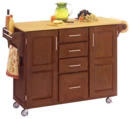 oak kitchen carts and islands home styles furniture kitchen cart in cottage oak