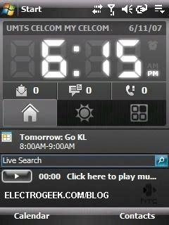 htc text themes electrogeek free windows mobile 6 htc black theme