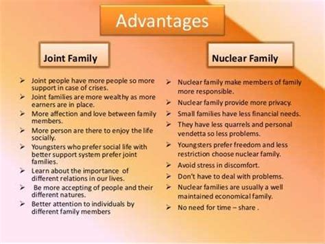 Nuclear Family Essay by Essay About Joint Family