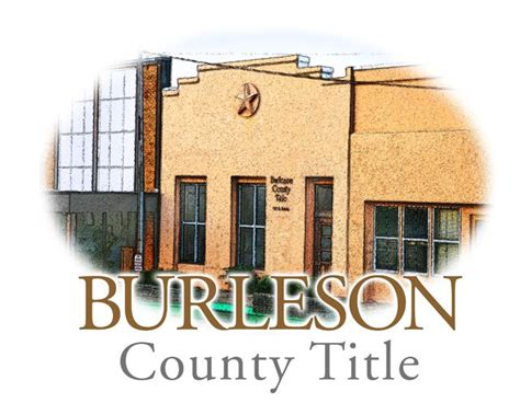 Burleson Post Office by Burleson County Title