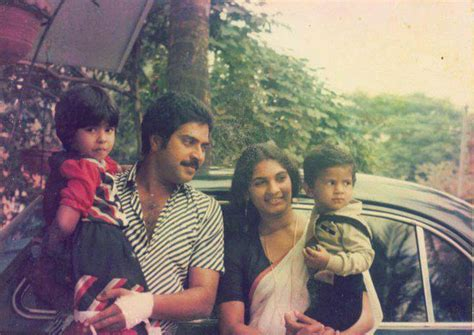 Mammootty And Sulfath Celebrate 37th Wedding Anniversary