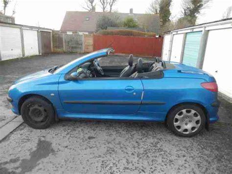 blue peugeot for sale peugeot 2002 206 cc blue car for sale