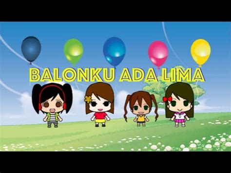 balonku ada lima lagu anak balonku ada lima lagu anak anak indonesia karaoke