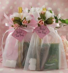 Tea Bag Favors by Gifts For Your Guests Tea Favors