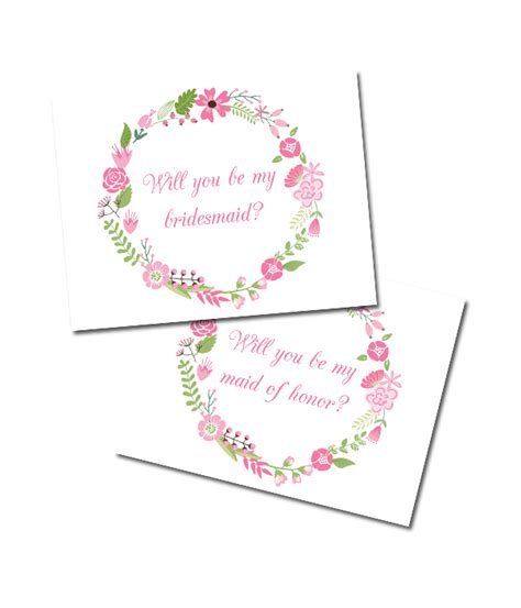 will you be my bridesmaid cards template 7 best images of printable bridesmaid cards will you be