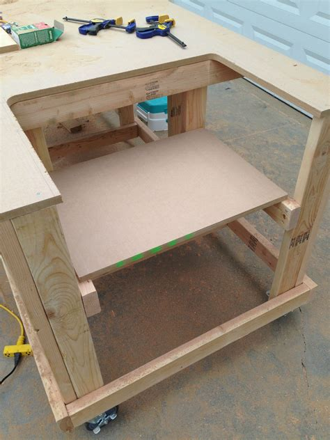 bench saw table building your own wooden workbench make