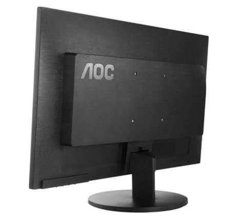aoc 24inch hd mva monitor with speakers