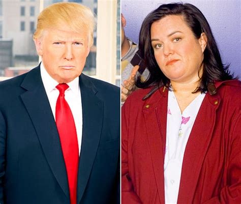 Donald Receives A Pair Of Rosie by Donald Vs Rosie O Donnell Feuds The