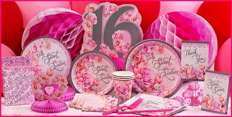 sweet 16 birthday party ideas thriftyfun newhairstylesformen2014com blossom sweet 16 party supplies blossom sweet 16