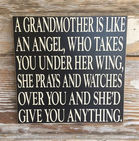 Shed Give Anything by A Grandmother Is Like An Who Takes You