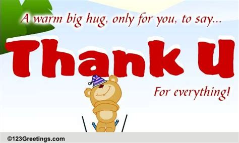 printable thank you for everything cards thank you for everything free thank you ecards greeting
