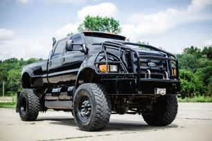 Ford f650 lifted with stacks