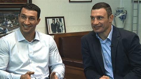klitschko brothers who is better just not said president klitschko