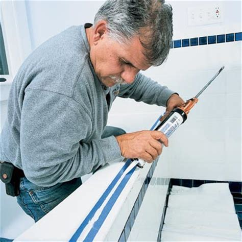 best caulk for bathtubs the best caulk to use read this before you redo a bath this old house