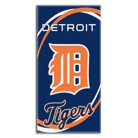 detroit tigers bedding detroit tigers mlb 30 quot x 60 quot terry beach towel