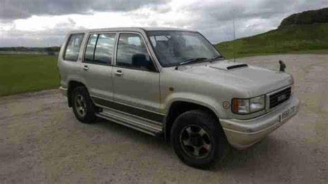 i just got a 1995 isuzu trooper and it wont start i think it may have something to do with anti isuzu 1995 trooper bighorn 3 1 automatic auto diesel with towbar 4x4 7