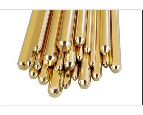 Free Cutting Brass Rods Usage Industrial Rs 330 Piece