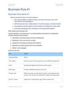 business rule template business rule template 03 business information business rules template apple iwork pages