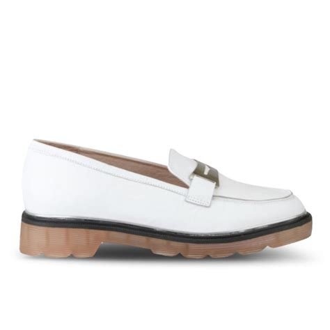 white loafers womens senso s connie loafers white free uk delivery