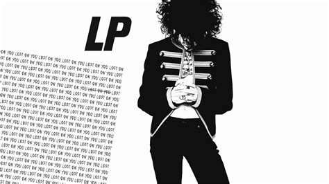 On You lp lost on you audio