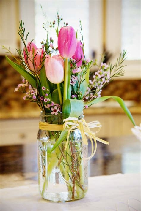 spring flower arrangement ideas home decor holicoffee