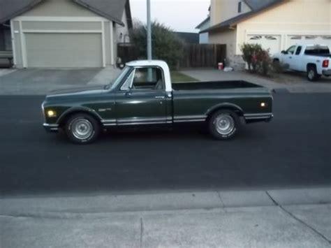 short bed truck cer buy used 1971 chevy truck short bed fleetside c10 custom